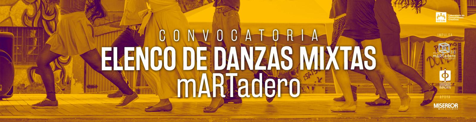 Convocatoria Elenco de Danzas Mixtas